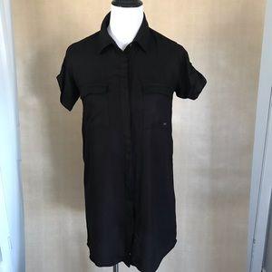 Element black shirt dress size S